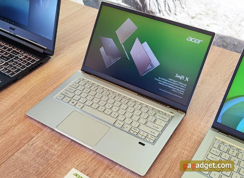 Новые ноутбуки Acer Swift, ConceptD, Predator и защищённые ENDURO в Украине-6
