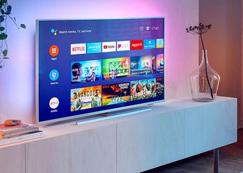 Przegląd Philips 50PUS7334: «wypchany» 4K-TV Serii Performance na Android TV