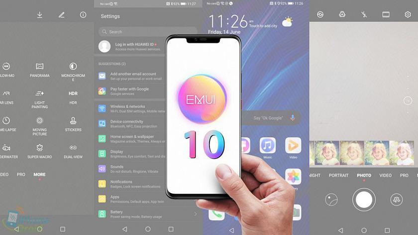 Huawei представит 9 августа не HongMeng, а EMUI 10