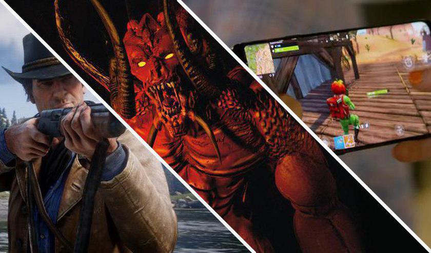Нескучный игродайджест недели: Rockstar показала геймплей Red Dead Redemption 2, Fortnite вышла на мобильных устройствах, а Blizzard анонсировала новую часть Diablo
