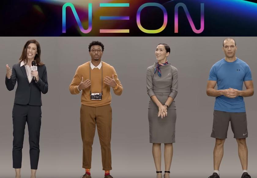 Загадочный проект Samsung Neon оказался «искусственным человеком»