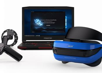 Build 2017: VR-шлемы Acer и HP для Windows Mixed Reality и контроллеры Microsoft