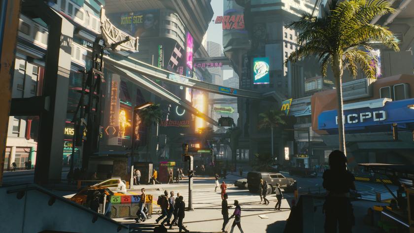 CDProjekt Red: ритм жизни городов вCyberpunk 2077 будет влиять наигрока