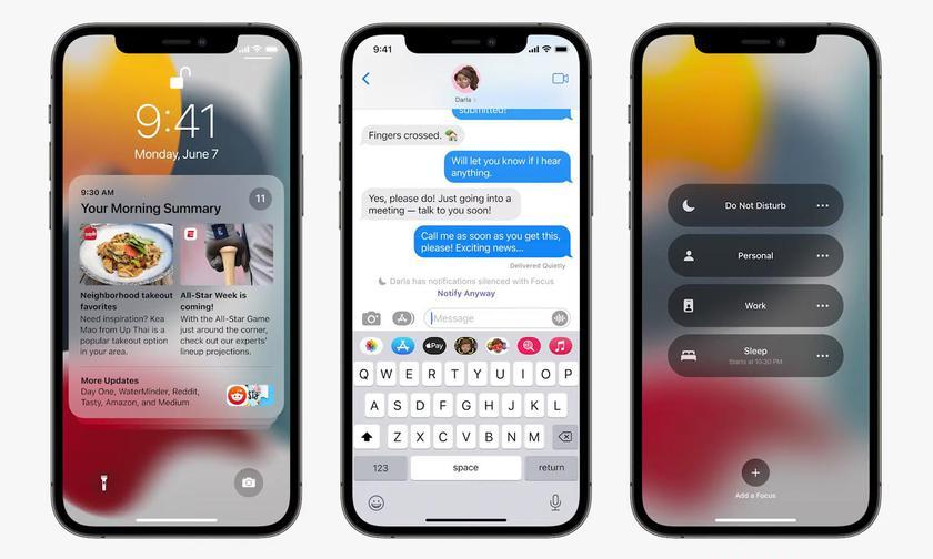 Apple представила iOS 15: рассказываем, какие нововведения получат айфоны