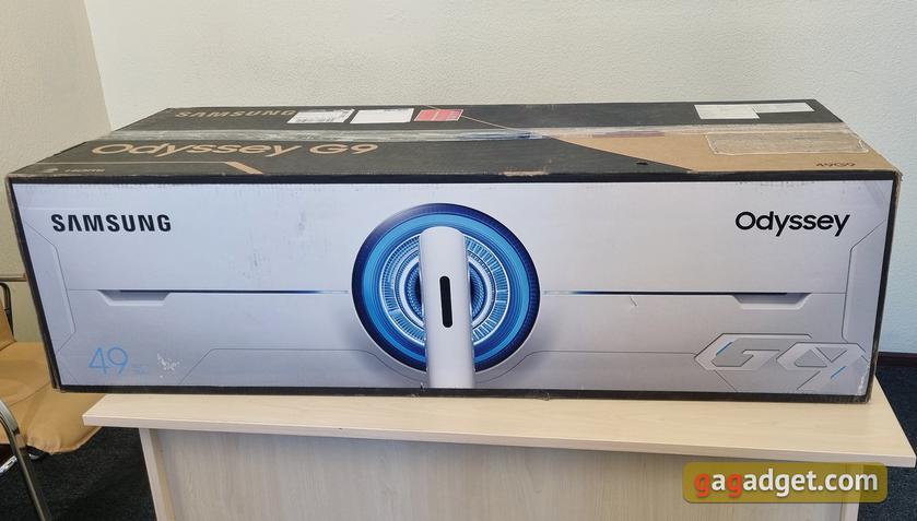 Обзор Samsung Odyssey G9: первый в мире геймерский монитор с радиусом изгиба 1 метр-3
