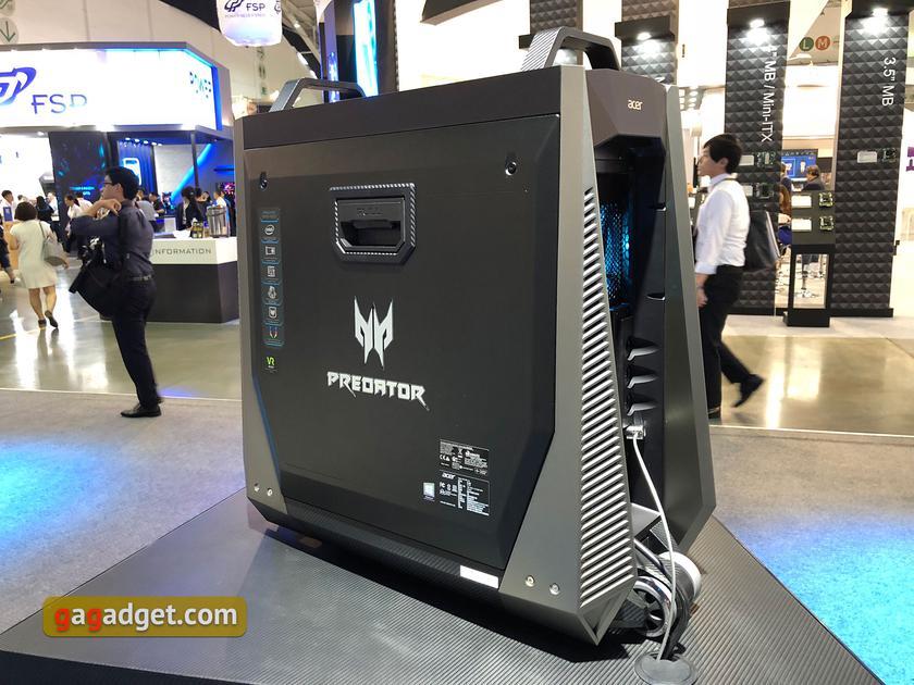 Computex 2018: новые игровые ноутбуки и системные блоки Acer своими глазами-10