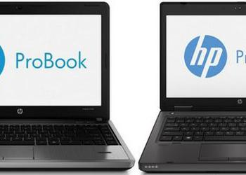 A large update of the HP ProBook notebooks