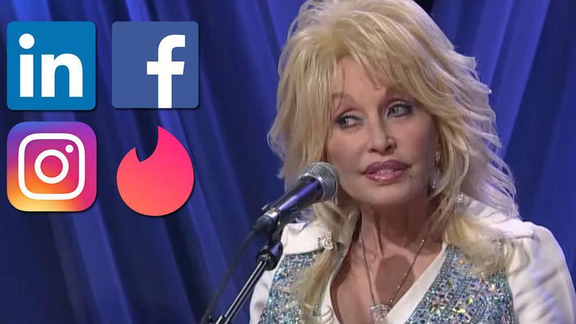 От LinkedIn до Tinder: в соцсетях новый вирусный флешмоб — #Dollypartonchallenge