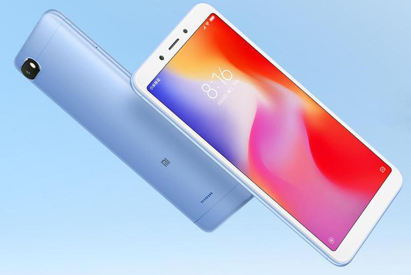 Xiaomi Redmi 6Aобзавёлся версиями на3/32 и4/64ГБ памяти