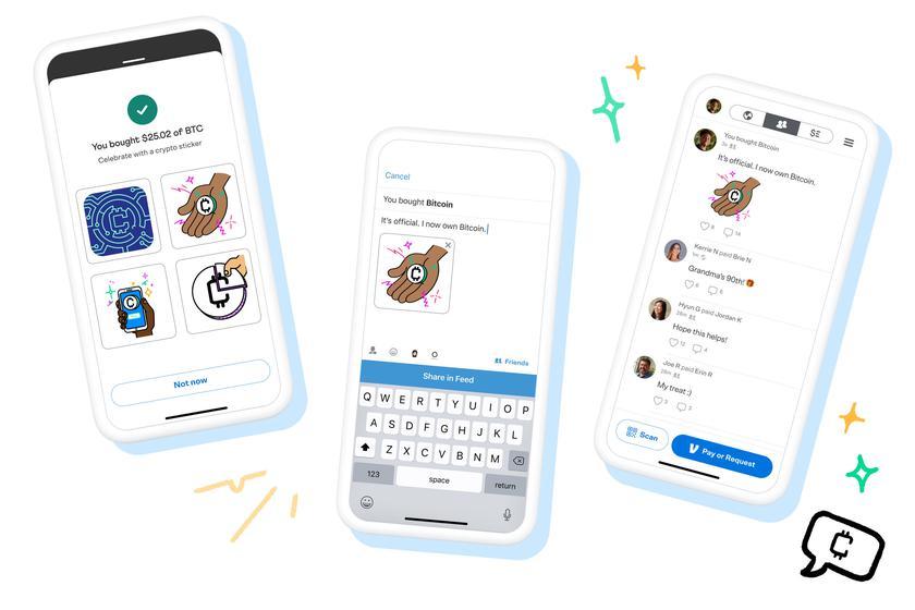 Приложение Venmo, детище PayPal, начнет работать с 4 криптовалютами, включая Bitcoin и Ethereum