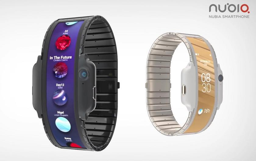 Гибрид смартфона и часов Nubia-α: пока концепт, но ненадолго