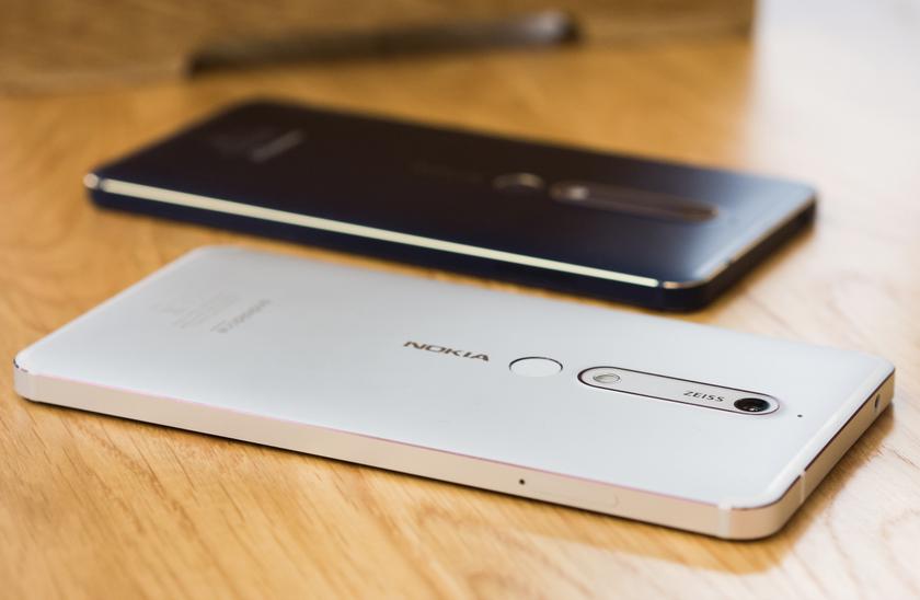 Бюджетник Nokia 6.1 получил обновление Android 10