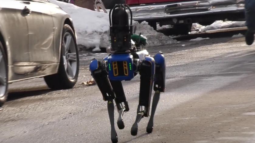 Робота-пса Boston Dynamics уволили из полиции Нью-Йорка из-за разжигания споров о расизме и слежке