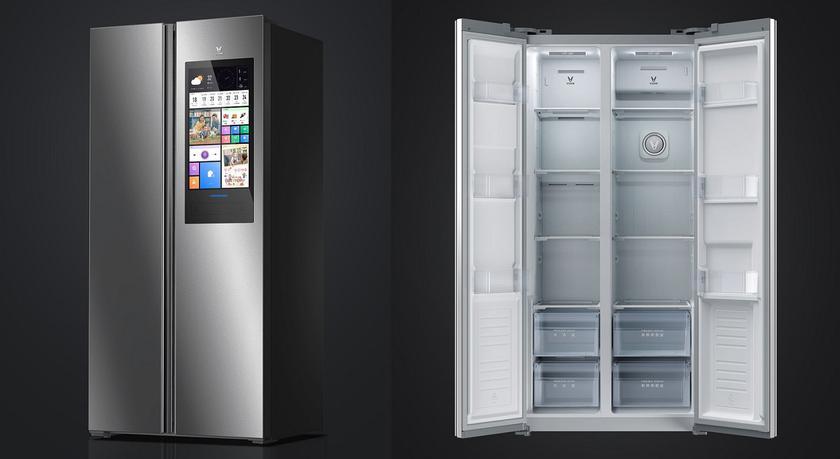 Xiaomi представила IoT-холодильник Yunmi 450L