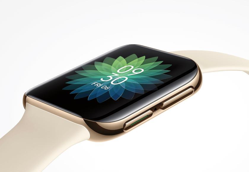 Дизайн, как у Apple Watch: в сети появилось качественное изображение первых смарт-часов OPPO