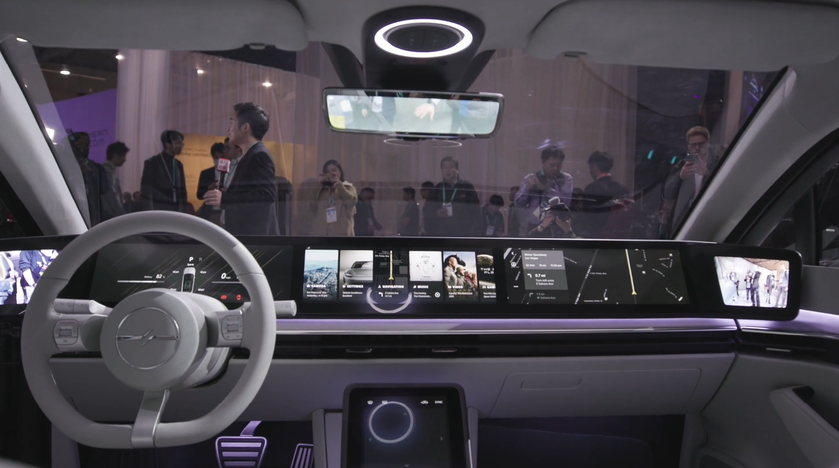 Внутри Vision-S: новые подробности обэлектромобиле Sony иего главные особенности