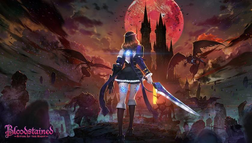 Вянваре Bloodstained Ritual ofthe Night порадует игроков классическим режимом вдухе первой Castlevania
