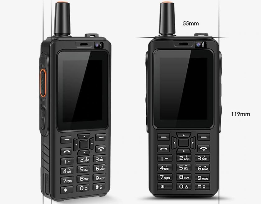 UNIWA Alps F40 Zello: брутальный телефон-рация с ударопрочным корпусом и ОС Android