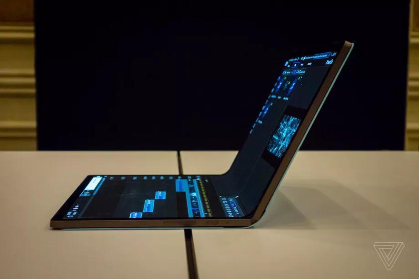 Intel тоже показал на CES 2020 складной ноутбук Horseshoe Bend с большим гибким дисплеем
