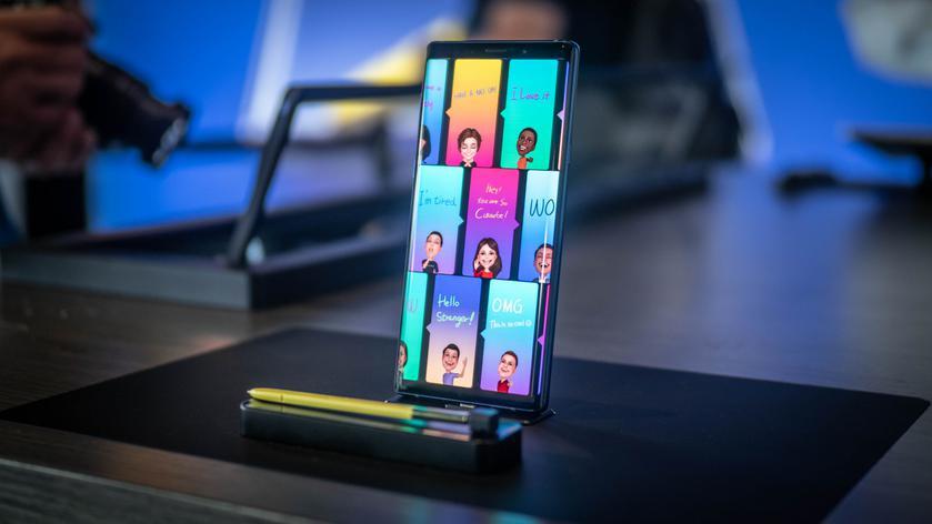 Samsung Galaxy Note9 в тестах производительности уступил прошлогоднему iPhone X и OnePlus 6