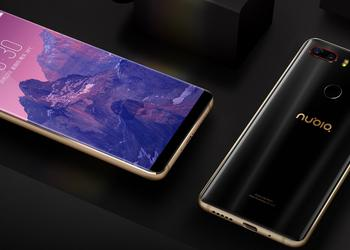 The first render of the flagship Nubia Z19