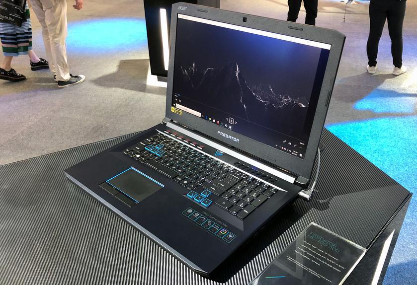 Computex 2018: новые игровые ноутбуки и системные блоки Acer своими глазами-6