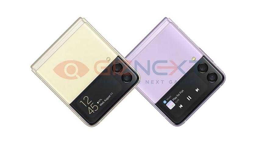 Утёкшие рендеры Galaxy Z Flip 3 раскрыли дату следующей презентации Samsung Unpacked