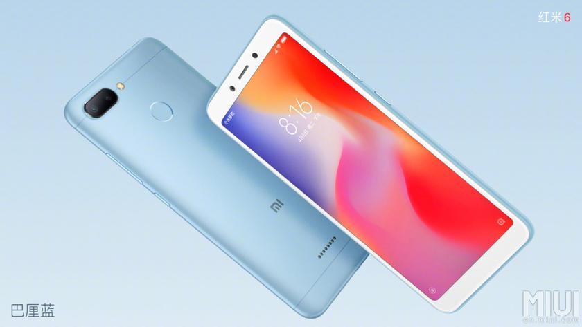 Анонс Xiaomi Redmi 6 и Redmi 6A: доступные смартфоны с «высоким» экраном на чипах MediaTek-3