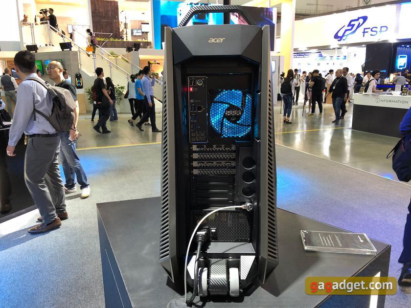 Computex 2018: новые игровые ноутбуки и системные блоки Acer своими глазами-9