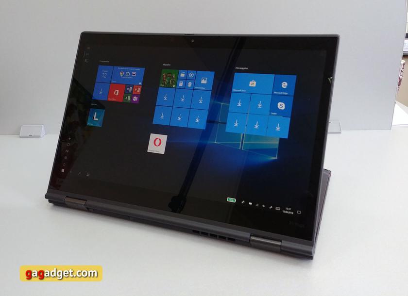 """Обзор Lenovo ThinkPad X1 Yoga (3 gen): топовый трансформируемый """"бизнес-ноутбук"""" с впечатляющей ценой-19"""