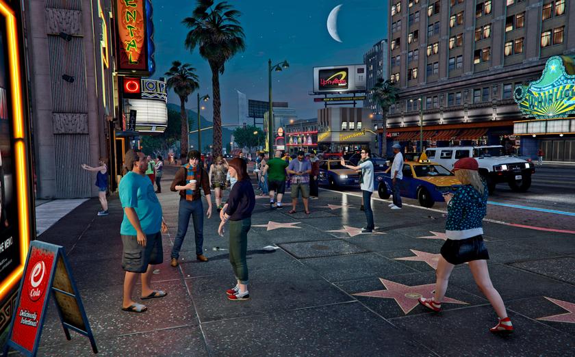 GTA 6может получить более умных и живых NPC благодаря новой технологии Rockstar