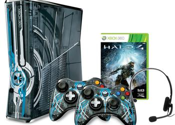 Released a limited version of the console Xbox 360 based on the game Halo 4