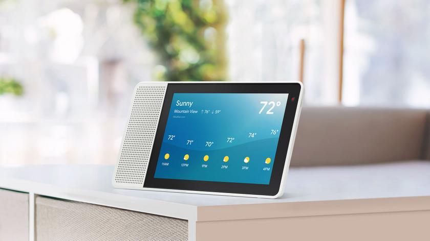Lenovo и Google выпустили смарт-дисплей с Google Assistant