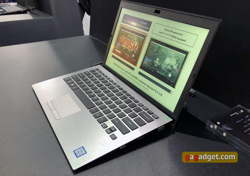 Computex 2018: Внезапно. Новые ноутбуки Vaio S13 и S11-4