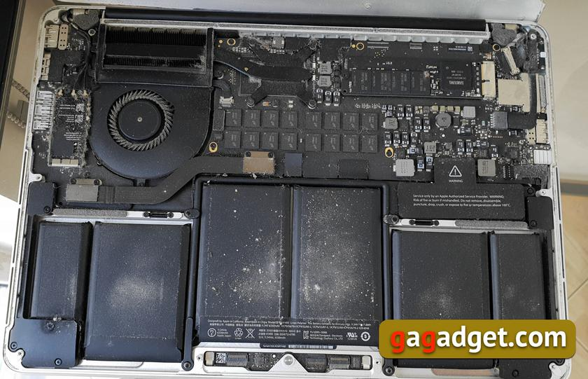 Бюджетная модернизация MacBook Pro с помощью SSD-накопителя Transcend JetDrive 825-7