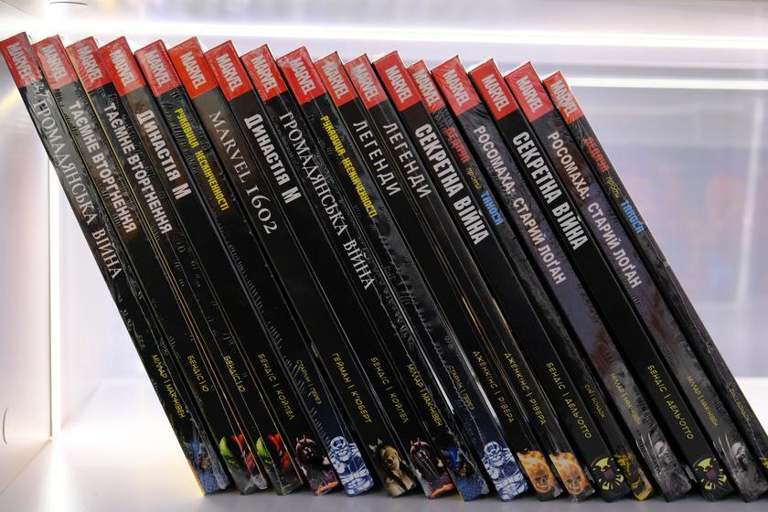 Начались продажи официальных комиксов Marvel на украинском и артбуков по играм PlayStation