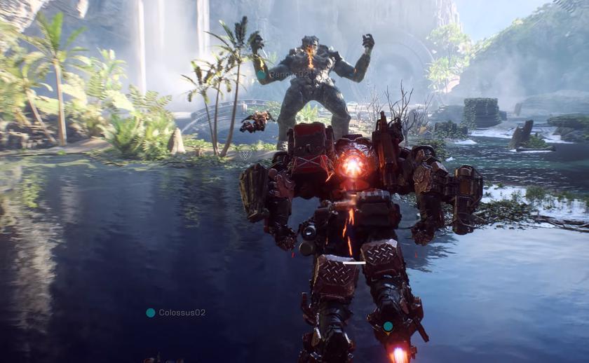 BioWare показала 20минут геймплея Anthem скомментариями продюсера игры