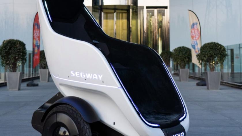 Segway S-Pod: футуристический трон на колёсах в виде яйца