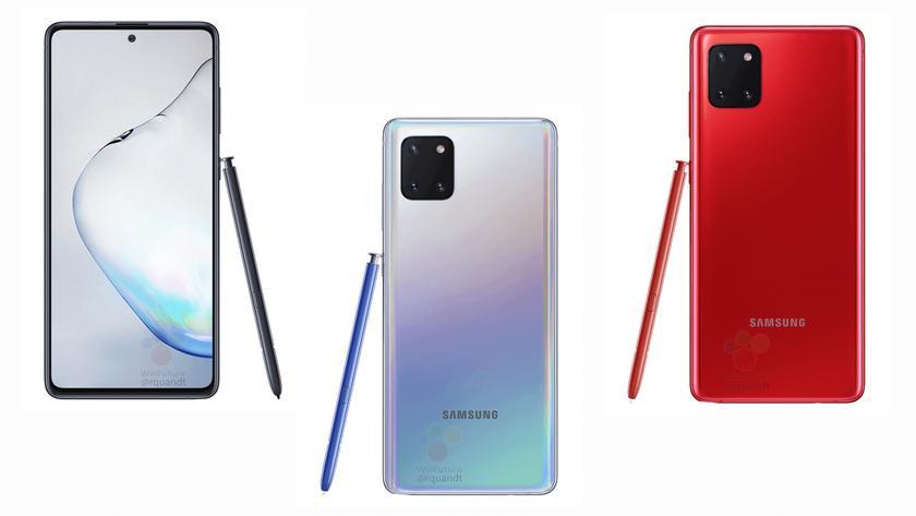 В сеть «слили» характеристики Samsung Galaxy Note 10 Lite: Exynos 9810, тройная камера, стилус и ценник в 609 евро