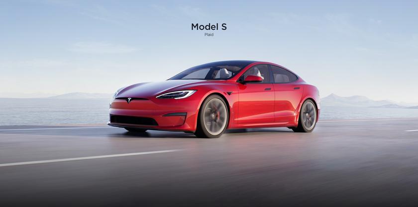 Tesla Model S (2021): обновлённый салон, штурвал вместо руля, запас хода более 837 км и компьютер с мощностью, как у PlayStation 5