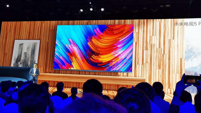 Xiaomi выпустит в следующем году телевизоры с экранами OLED