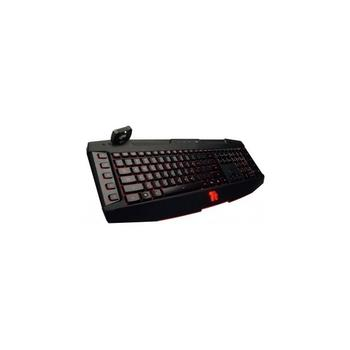 Tt eSPORTS by Thermaltake Gaming keyboard Challenger Ultimate Black USB