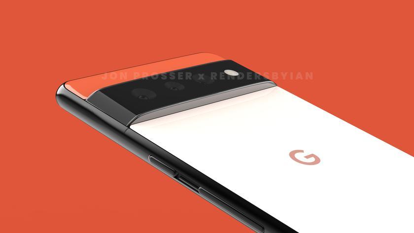 Смартфоны с уникальным дизайном: Джон Проссер показал как будут выглядеть Google Pixel 6 и Google Pixel 6 Pro