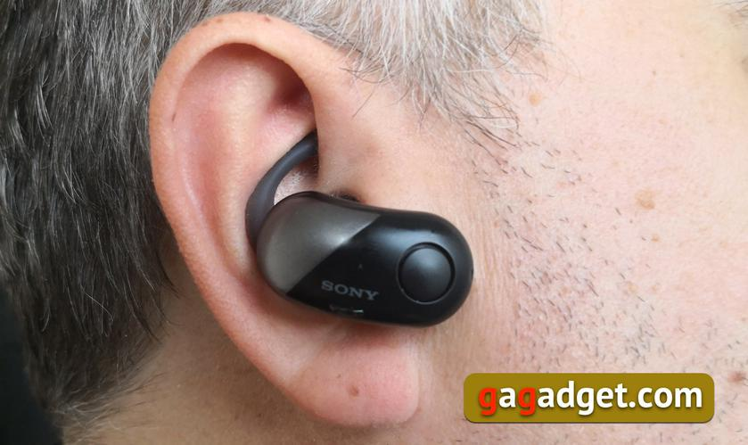 Обзор Sony WF-SP700N: моллюски для ушных раковин-3