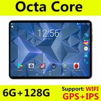 2019 Newest 10 inch 4G FDD LTE tablet Octa Core 1280X800 IPS HD 8.0MP 6GB RAM 128GB ROM Android 8.0 GPS tablets 10.1 Gifts
