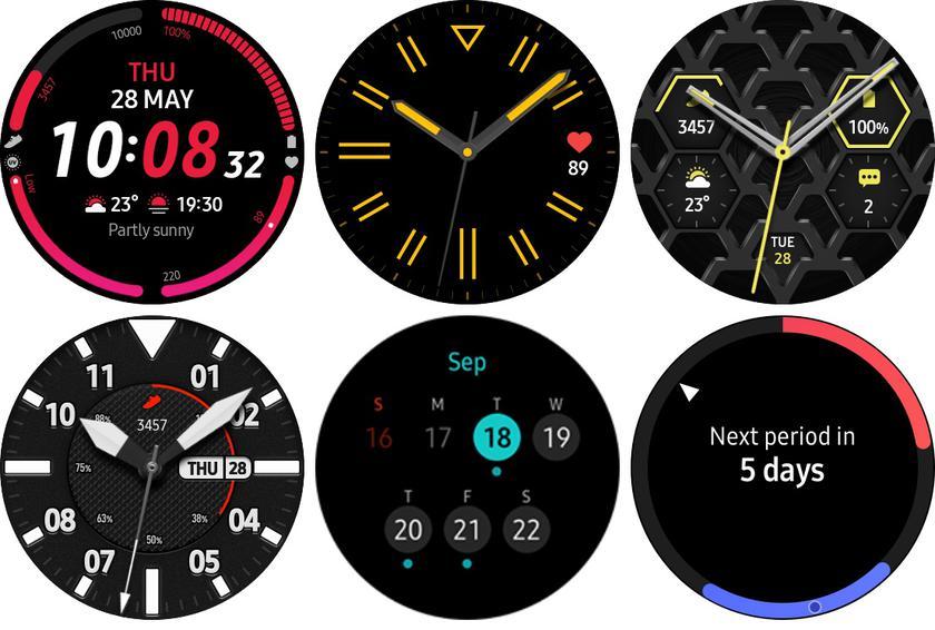 Новые циферблаты смарт-часов Samsung Galaxy Watch 3 и новая дата анонс