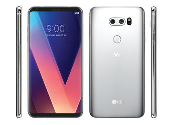 Flagship LG V40 will receive OLED-screen, chip Snapdragon 845 and wireless charging
