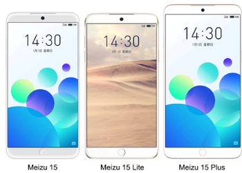 The new line of smartphones Meizu 15 can go on sale April 29