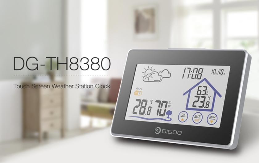 Digoo DG-TH8380: метеостанция за$16
