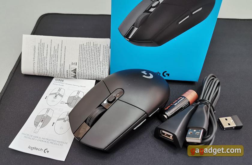 Обзор Logitech G305 Lightspeed: беспроводная игровая мышь с отличным сенсором-3